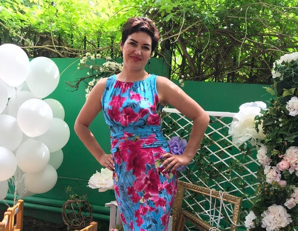 43-летняя Татьяна Петерсон в конкурсе «Миссис Блокнот»