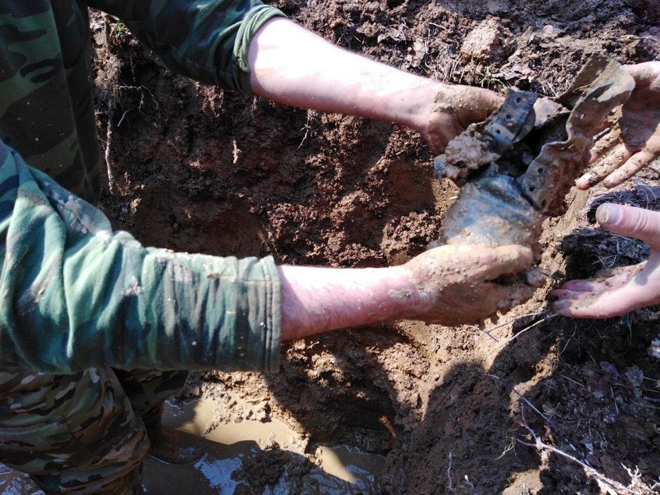 Останки солдата Великой Отечественной войны из Цимлянского района нашли поисковики