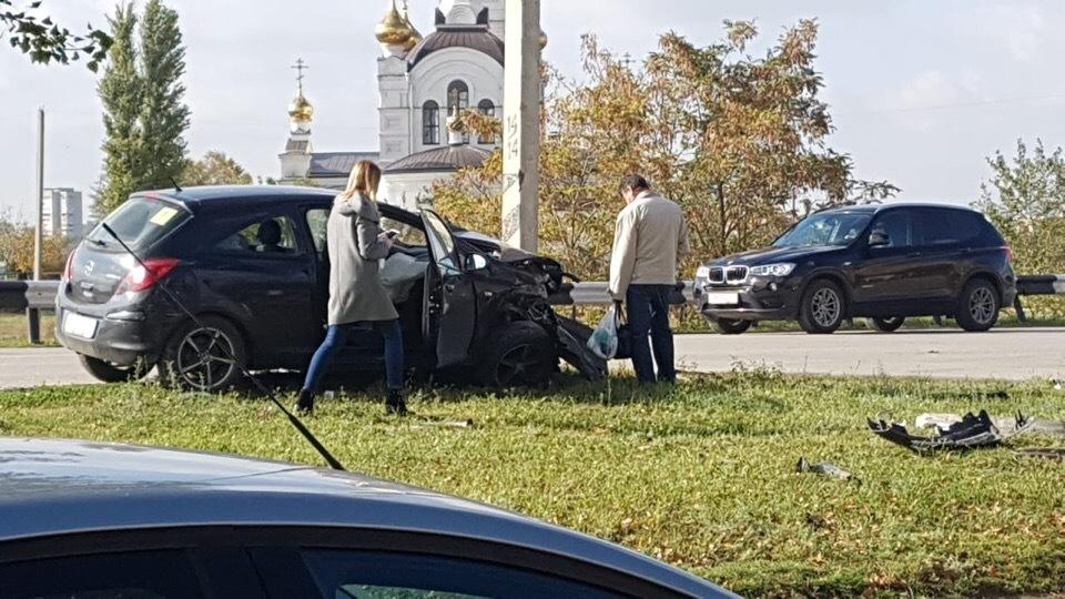 В аварии на Весенней пострадал 4-летний пассажир «Опеля»
