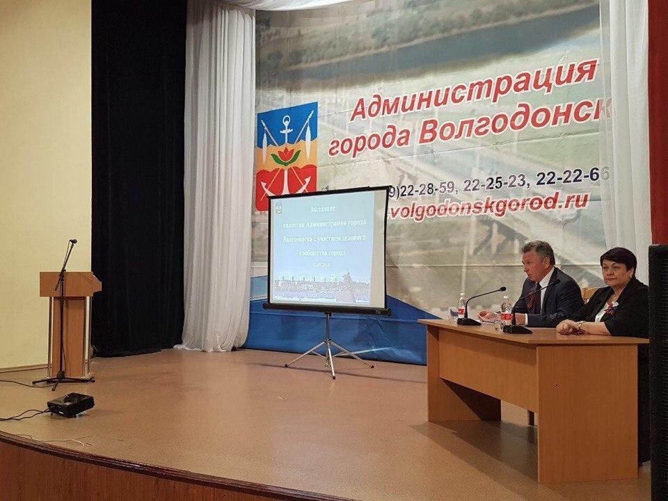 Виктор Мельников остался недоволен отчетом Вислоушкина на тему подготовки Волгодонска к новому отопительному сезону