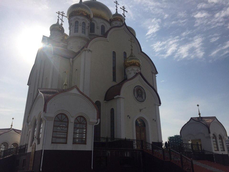 Православные верующие Волгодонска празднуют Благовещение