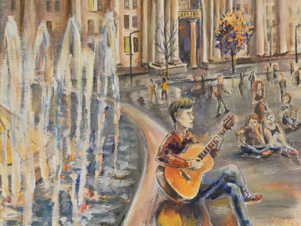 Юная художница из Волгодонска выиграла путевку в Минск
