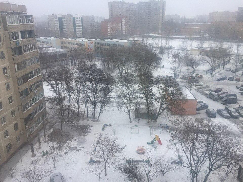 Обложной снег и туман пришли в Волгодонск в предпраздничный день