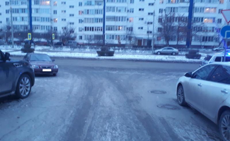 Неизвестный водитель ударил «Хендай» на Гагарина и скрылся