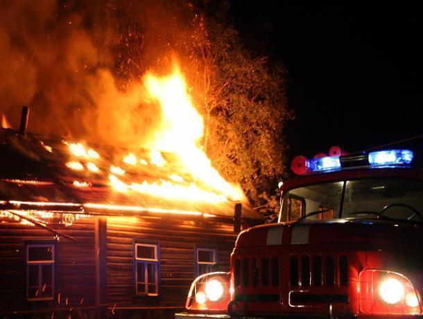 Женщина и двое детей погибли при пожаре под Волгодонском