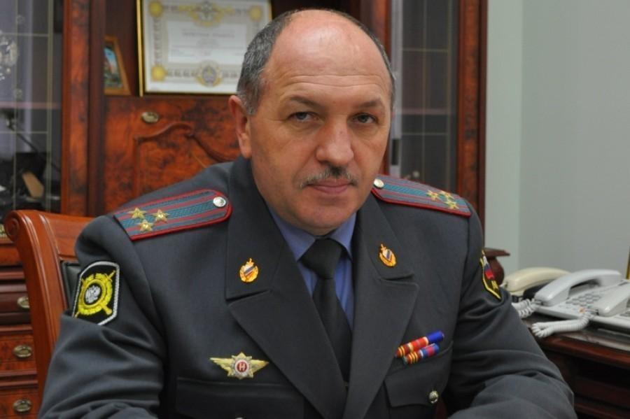 Главный полицейский Дона генерал-майор Олег Агарков побывал в Волгодонске