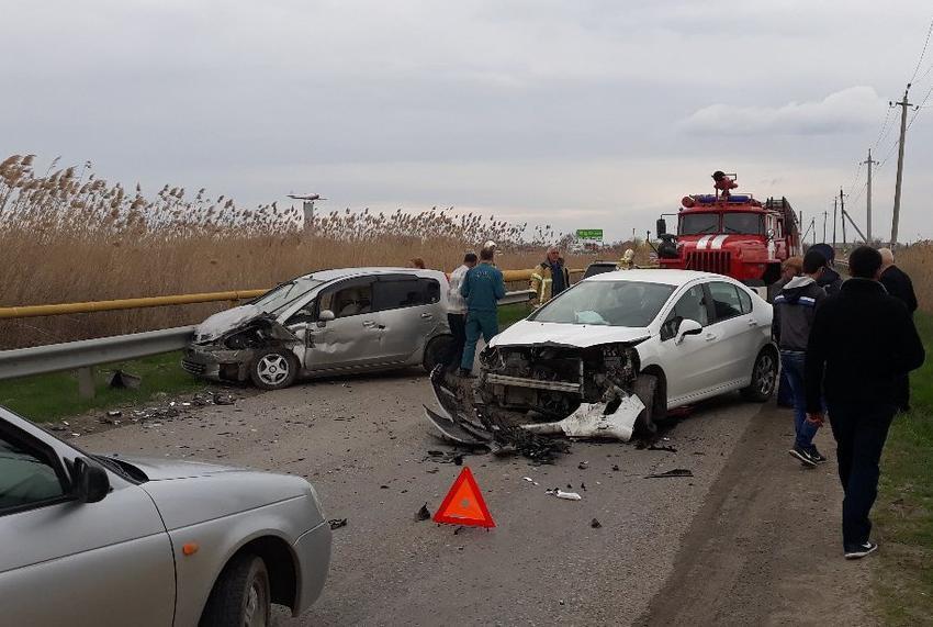 В ДТП возле станицы Романовская пострадал водитель «Мицубиси»