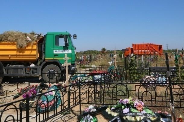 Стала известна сумма, которую в Волгодонске потратят на благоустройство мест захоронений