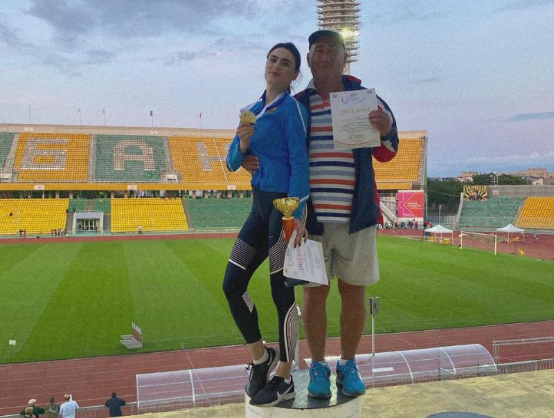 Легкоатлеты из Волгодонска успешно выступили на всероссийских соревнованиях в Краснодаре