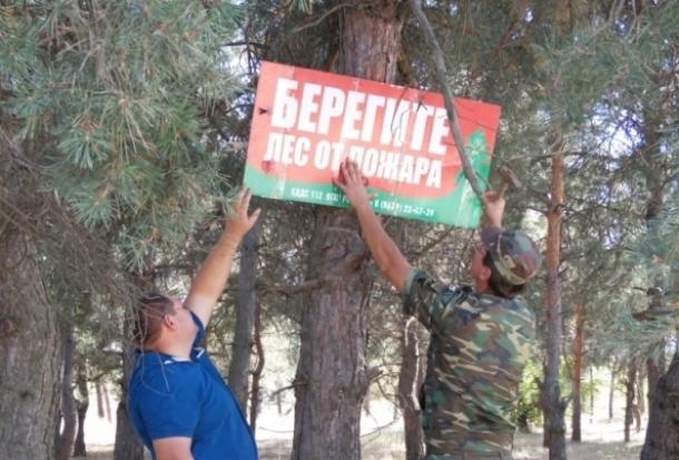 За 2,2 миллиона рублей в Волгодонске в 2019 году будет обеспечена охрана и защита лесов