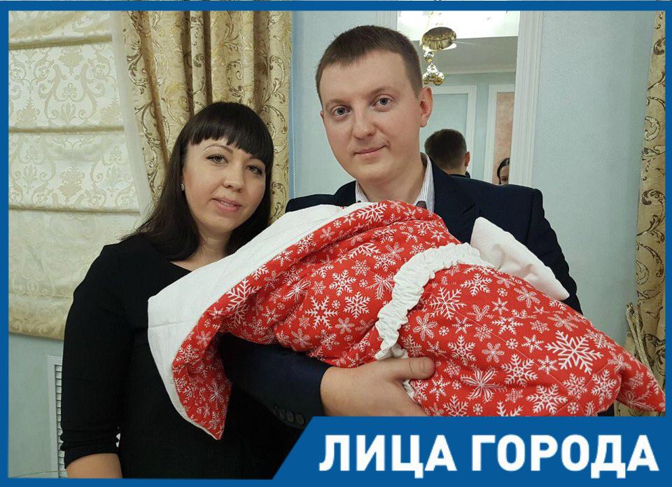 Она стала знаменитой, едва появившись на свет: Ксения Березкина - первенец Волгодонска в 2018 году