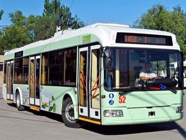 В каких троллейбусах Волгодонска пассажиры смогут охладиться от изнуряющей жары