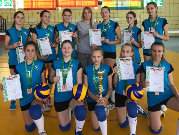 Юные волейболистки из Волгодонска заняли третье место на первенстве Ростовской области