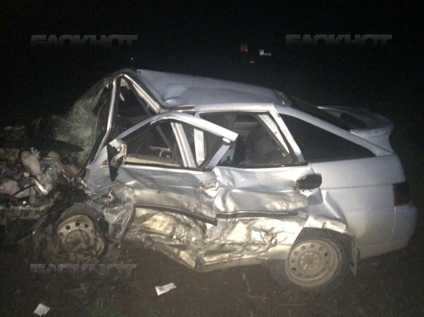 Двое погибли в лобовом ДТП на автодороге Морозовск-Волгодонск