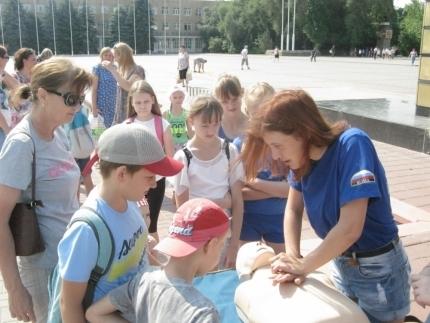 Как спасти свою семью рассказали студенты-добровольцы  из ДГТУ