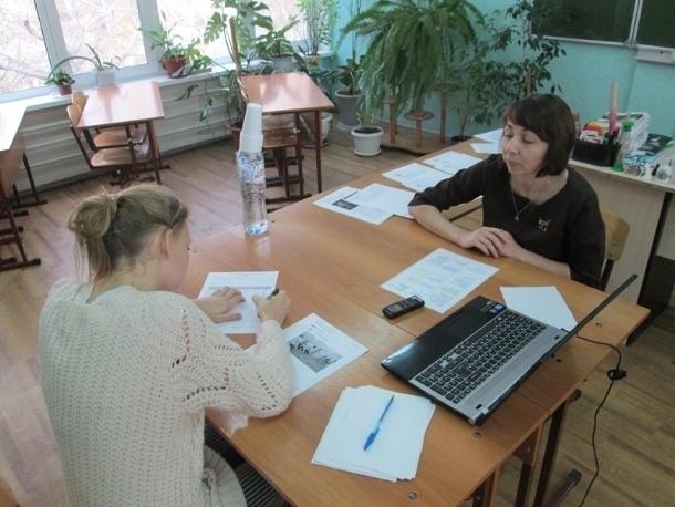 Школьники Волгодонска проверили как будет проходить сдача итогового устного собеседования по русскому языку