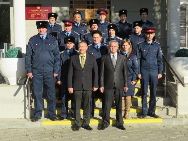 В Волгодонске выявили лучшего казачьего дружинника