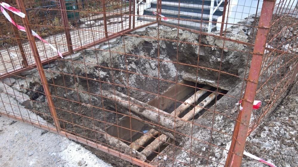 ВТС совместно с УК пообещали в кратчайшие сроки привести в порядок территорию возле МКД на проспекте Строителей