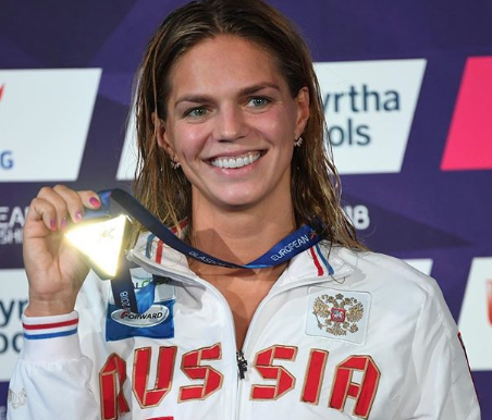 Юлия Ефимова установила новый рекорд на чемпионате Европы