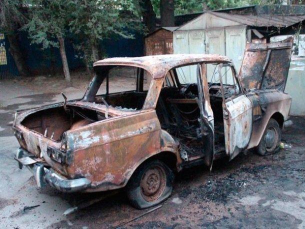 Под Волгодонском мужчина сгорел заживо в собственном автомобиле