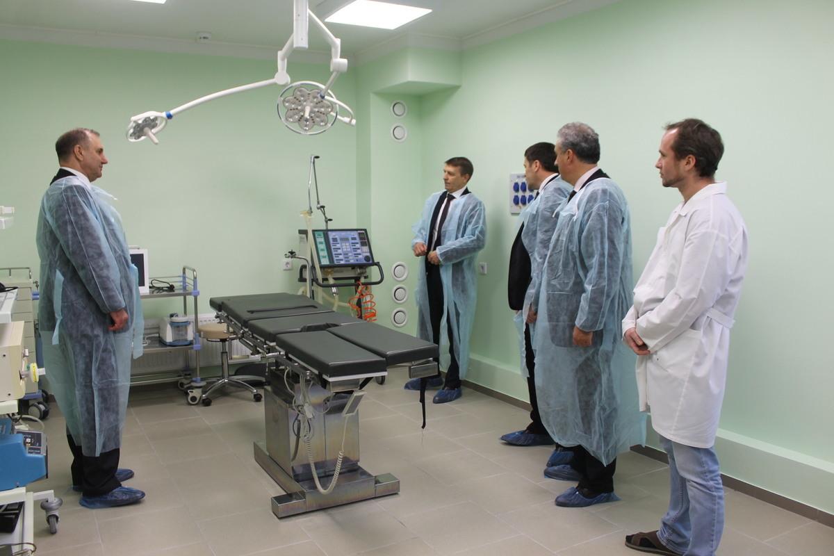 Хирургическое отделение ЦРБ Волгодонского района после капремонта открыли раньше срока