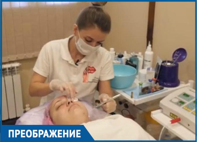 Косметологическую процедуру «на выход» в подарок от «Преображения» получила Анна Цыбина