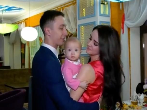 Семья Добровольских провела самый романтичный день в жизни