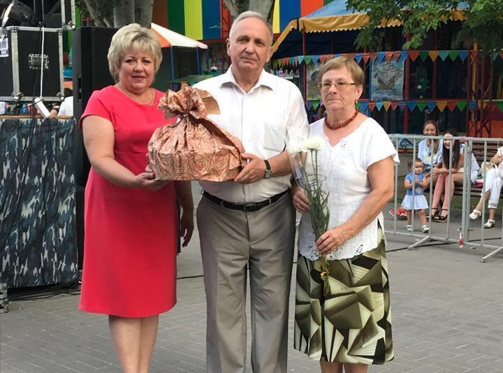 В Волгодонске чествовали «юбилейные» семьи