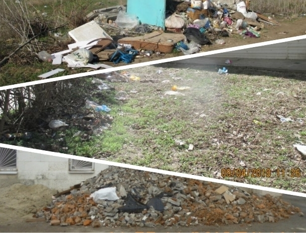 Грязь, мусор и несанкционированная торговля портят внешний вид Волгодонска