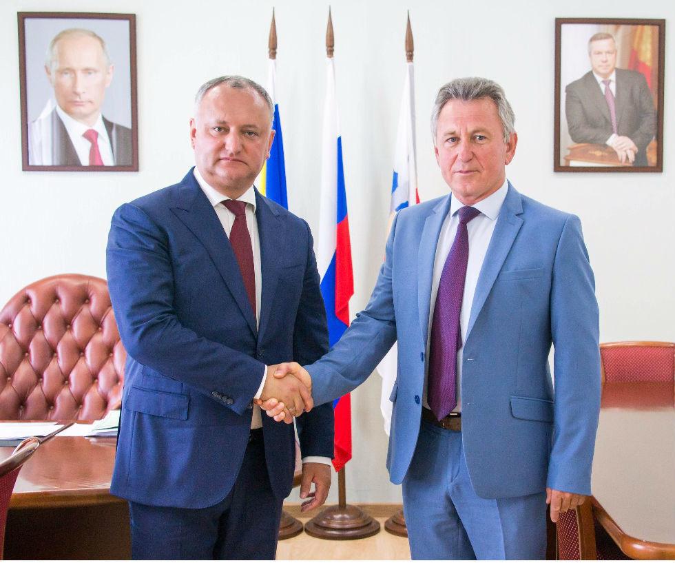 Президент Молдовы Игорь Додон побывал в администрации Волгодонска